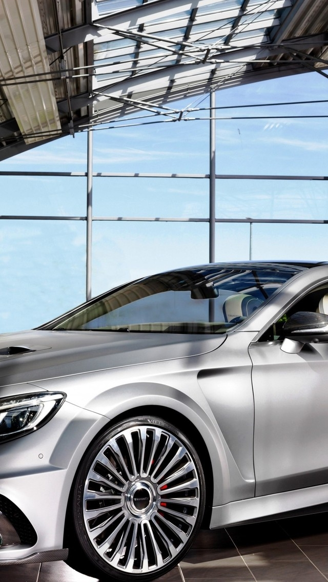 Mansory S 63 AMG Diamond Edition for 640 x 1136 iPhone 5 resolution