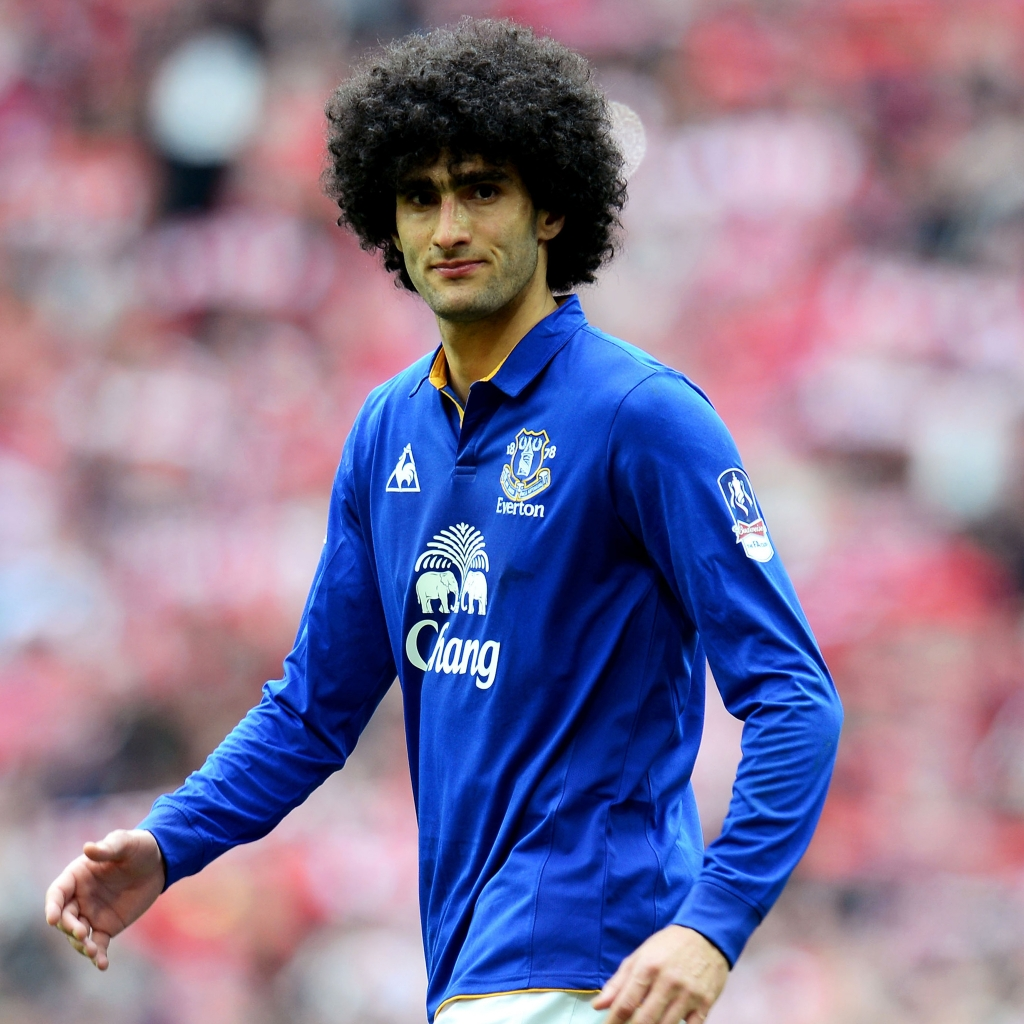 Marouane Fellaini Footballer for 1024 x 1024 iPad resolution