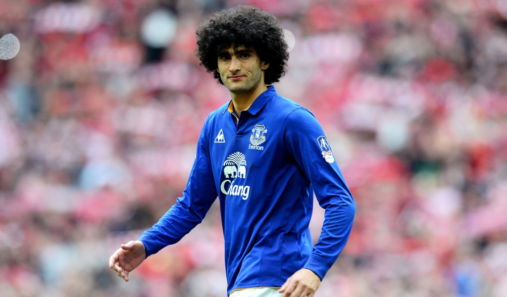 Marouane Fellaini Footballer for 1024 x 600 widescreen resolution