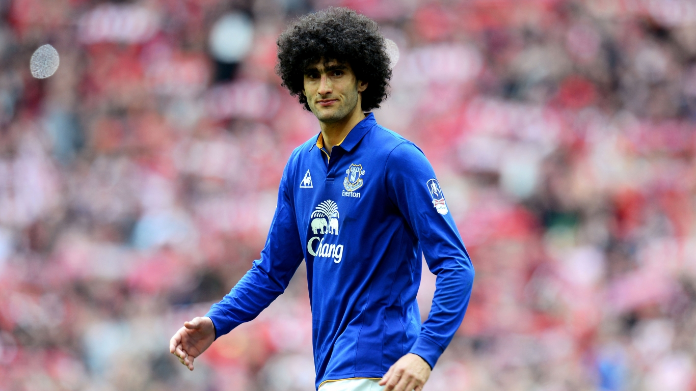 Marouane Fellaini Footballer for 1366 x 768 HDTV resolution