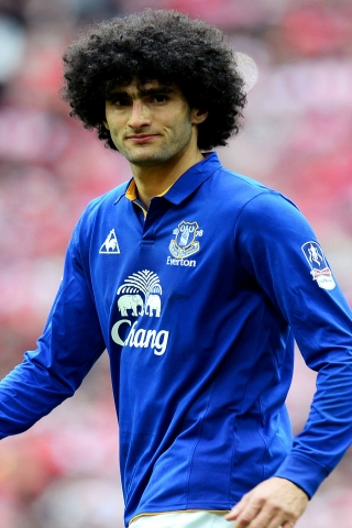 Marouane Fellaini Footballer for 320 x 480 iPhone resolution
