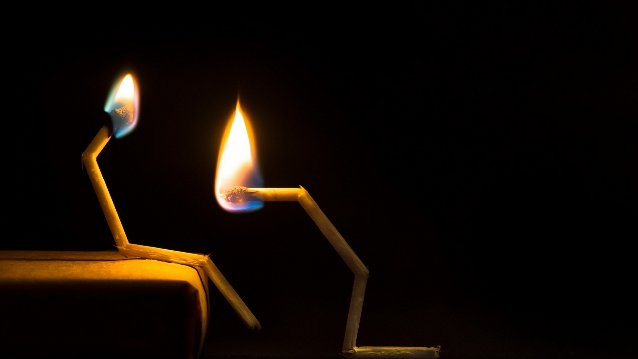 Matchsticks Puzzle for 1280 x 720 HDTV 720p resolution