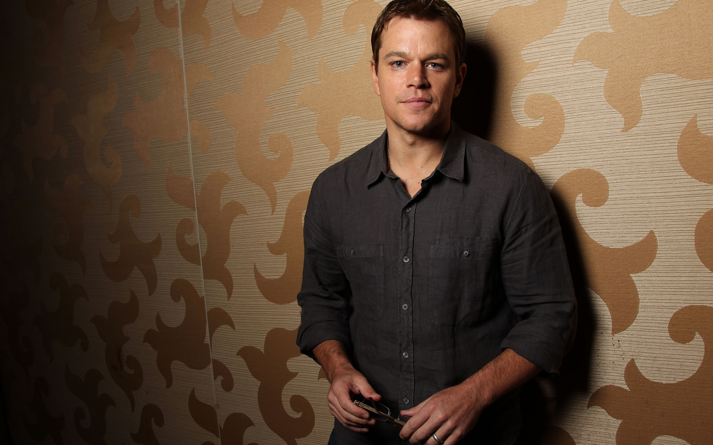 Matt Damon Actor for 2880 x 1800 Retina Display resolution