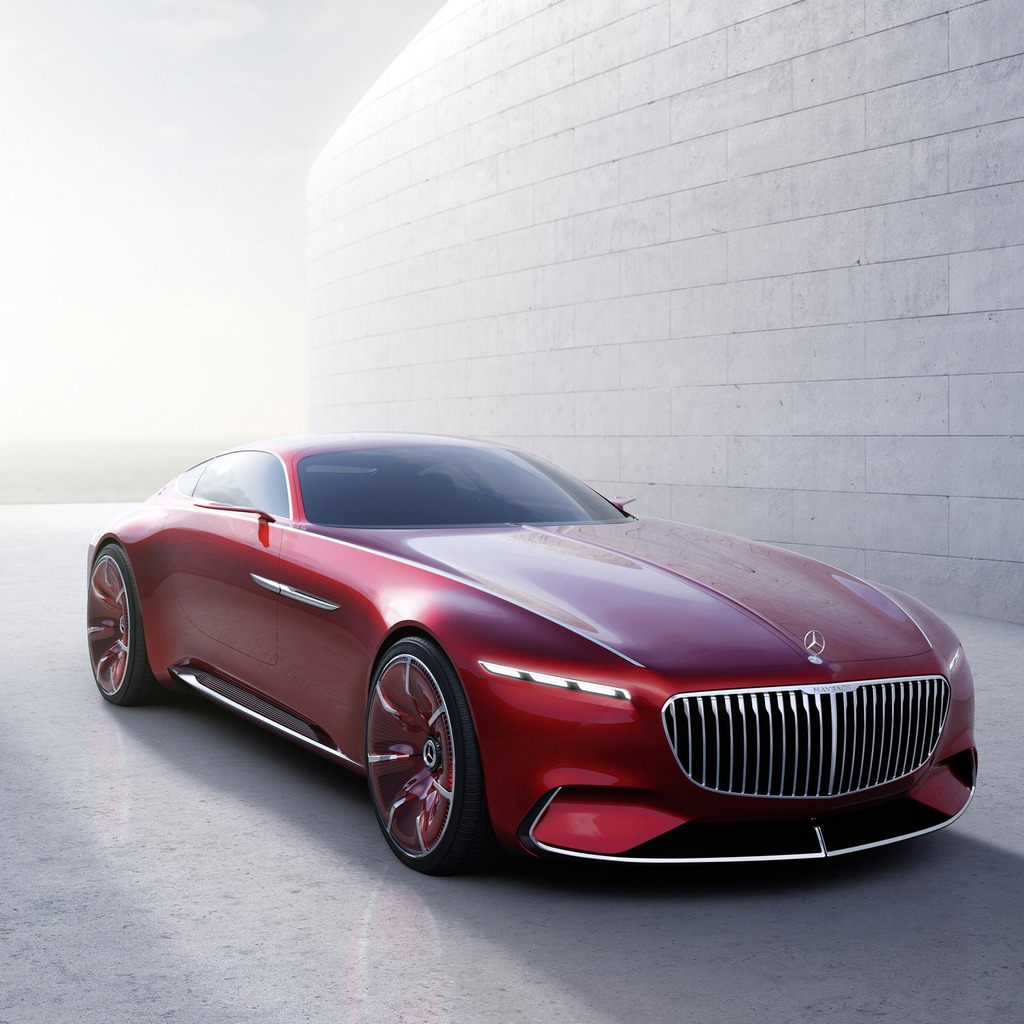 Maybach 6 2016 Concept Car for 1024 x 1024 iPad resolution