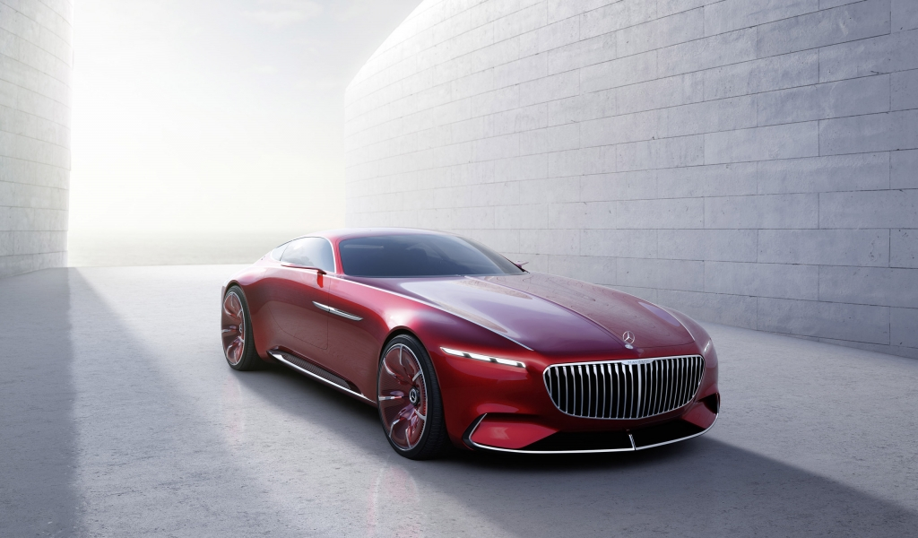Maybach 6 2016 Concept Car for 1024 x 600 widescreen resolution