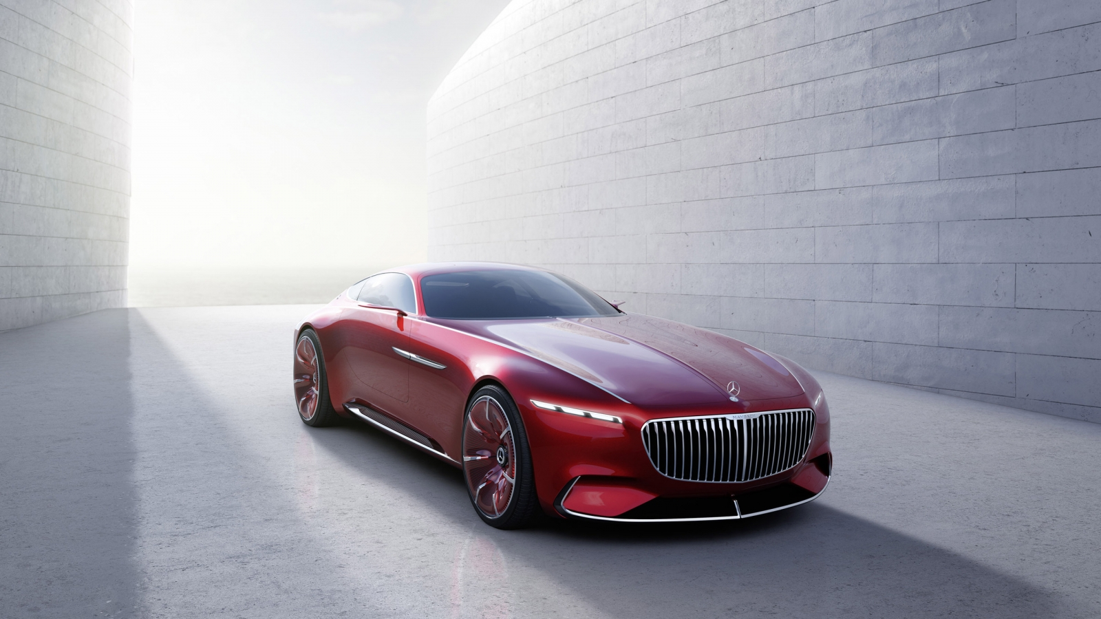 Maybach 6 2016 Concept Car for 1600 x 900 HDTV resolution