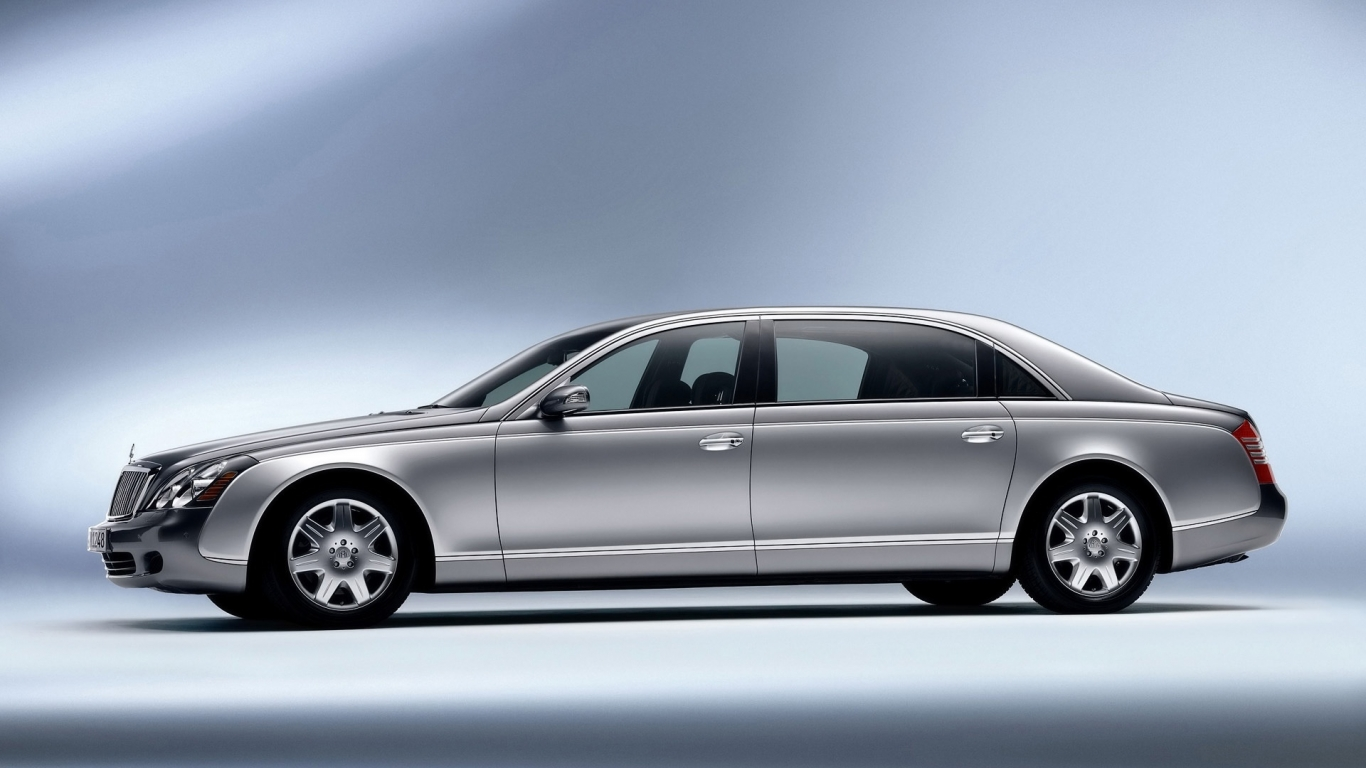 Maybach 62 Left for 1366 x 768 HDTV resolution
