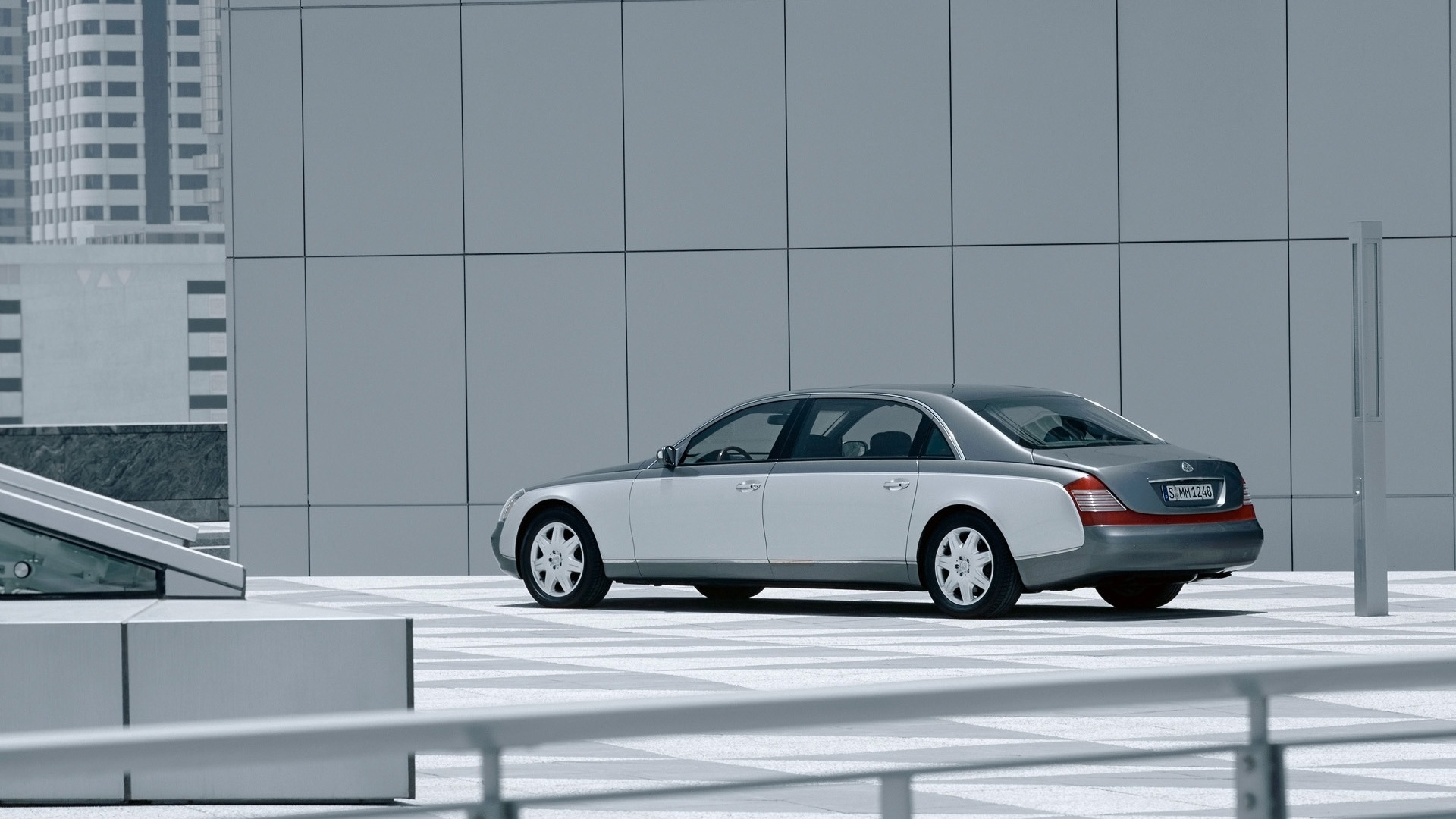 Maybach 62 Outside Left Front 3 for 1920 x 1080 HDTV 1080p resolution