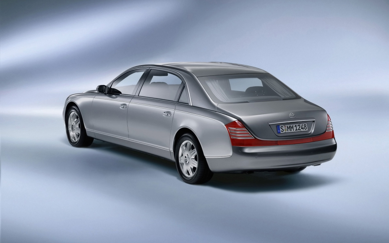 Maybach 62 Rear for 1280 x 800 widescreen resolution