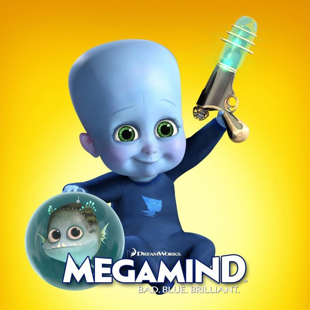 Megamind Child for 1024 x 1024 iPad resolution
