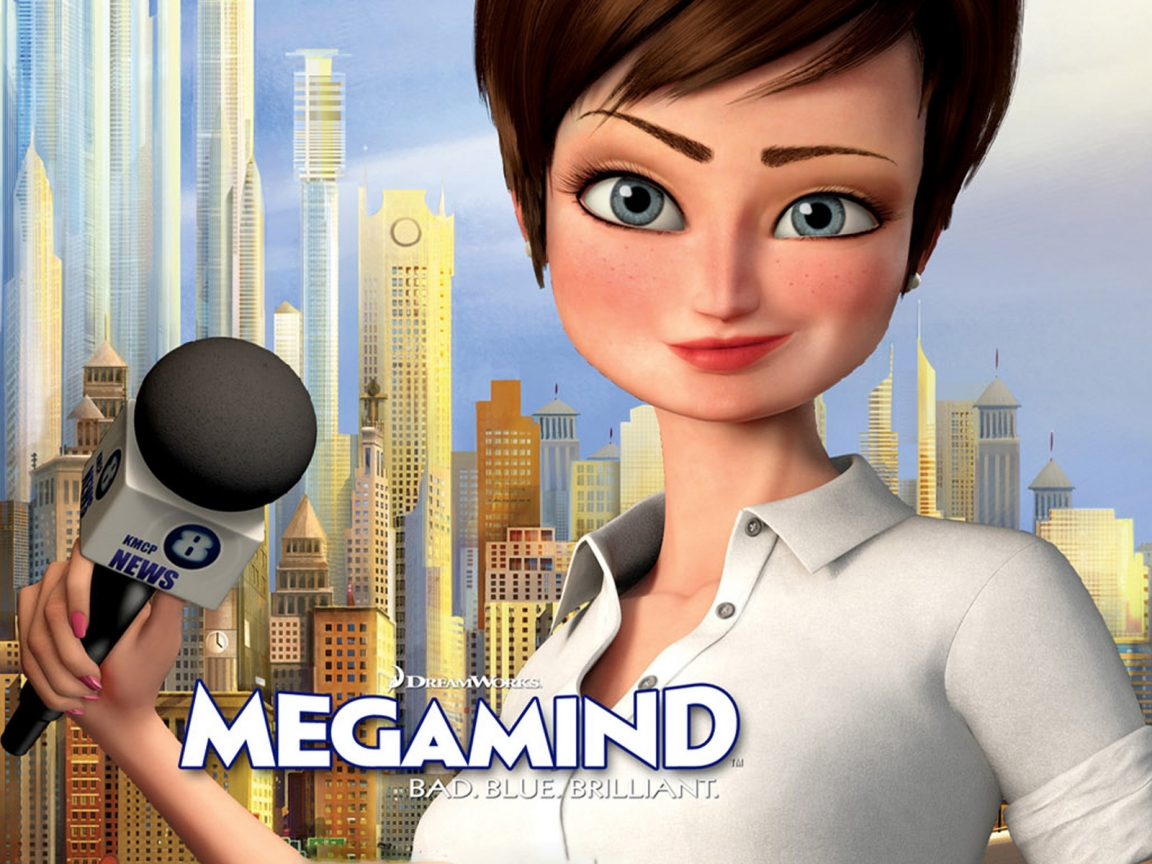 Megamind Roxanne Ritchie for 1152 x 864 resolution