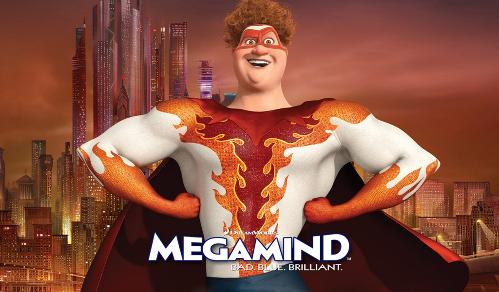 Megamind Titan for 1024 x 600 widescreen resolution