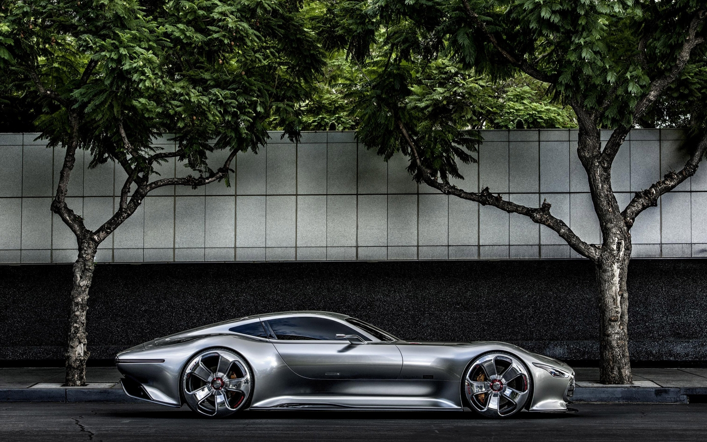 Mercedes AMG Vision GT Side for 1440 x 900 widescreen resolution