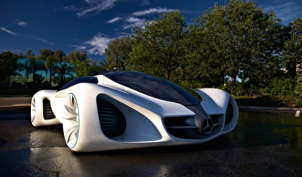 Mercedes Benz Biome for 1024 x 600 widescreen resolution