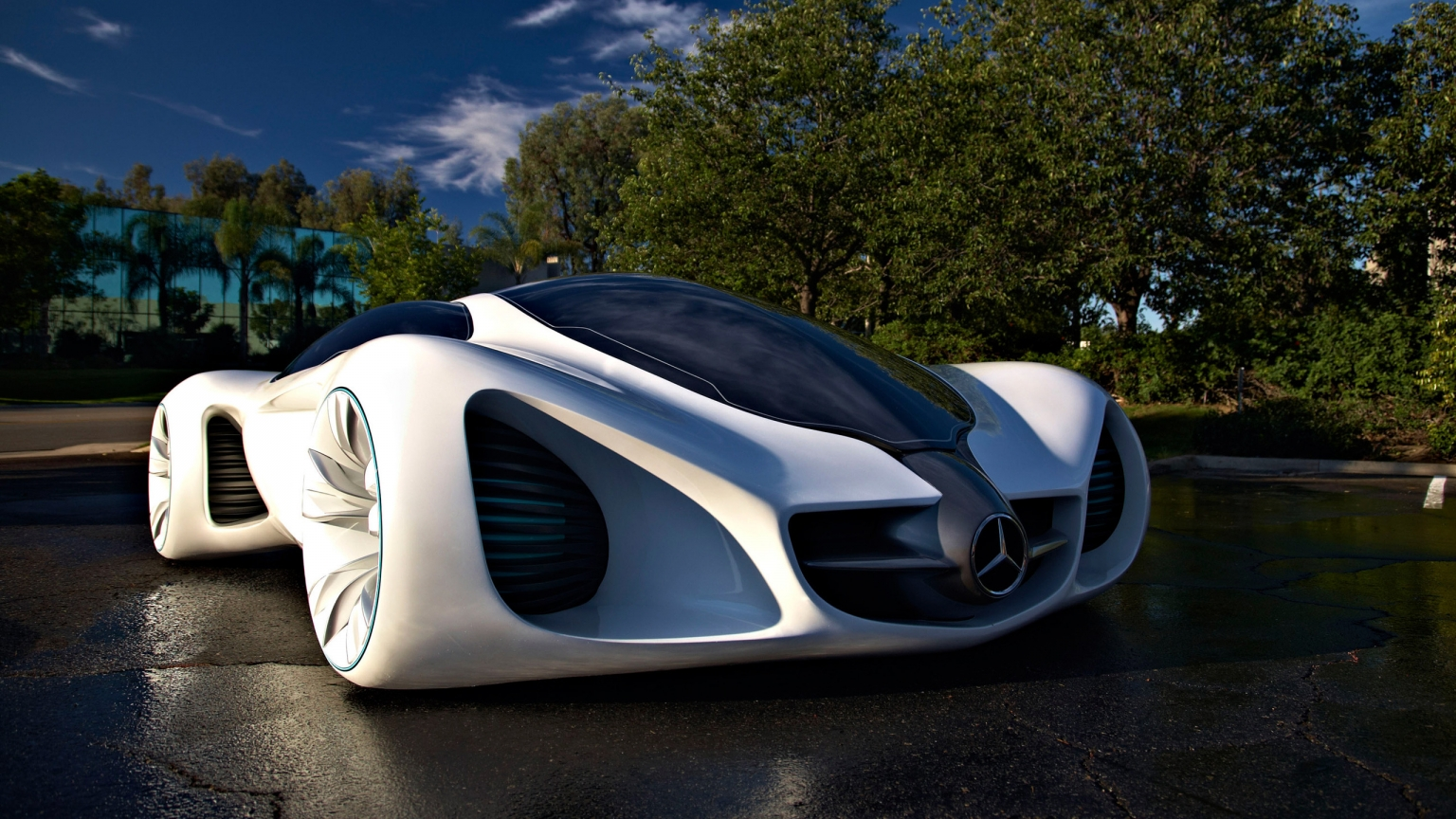 Mercedes Benz Biome for 1536 x 864 HDTV resolution