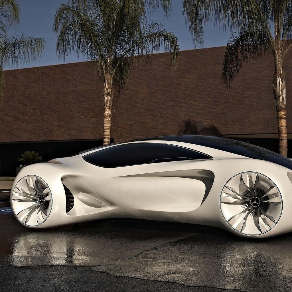 Mercedes Benz BIOME Concept Car 1024 X 1024 IPad Wallpaper