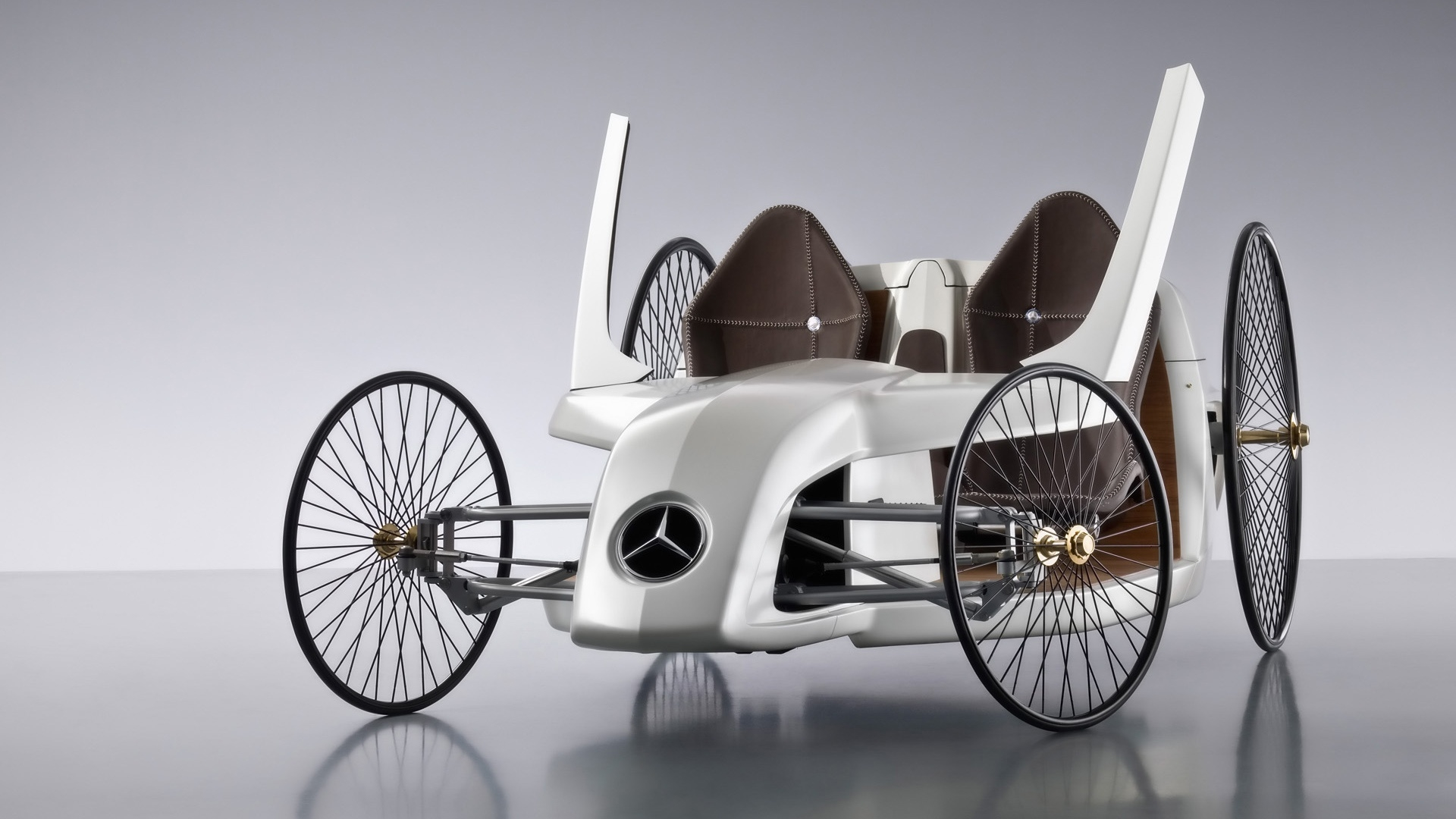 Mercedes Benz F CELL Roadster for 1920 x 1080 HDTV 1080p resolution