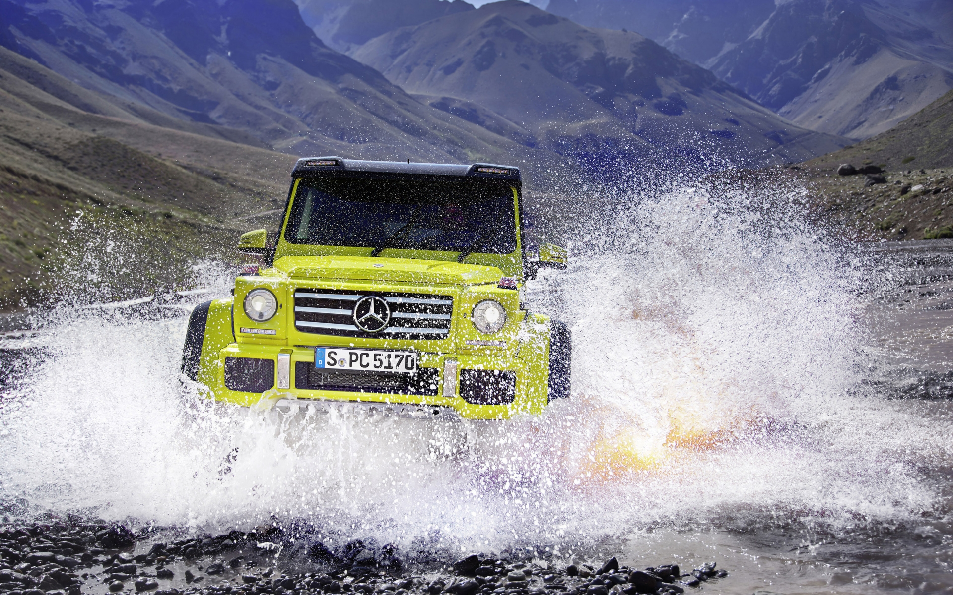 Mercedes Benz G500 2015 Off Road for 1920 x 1200 widescreen resolution