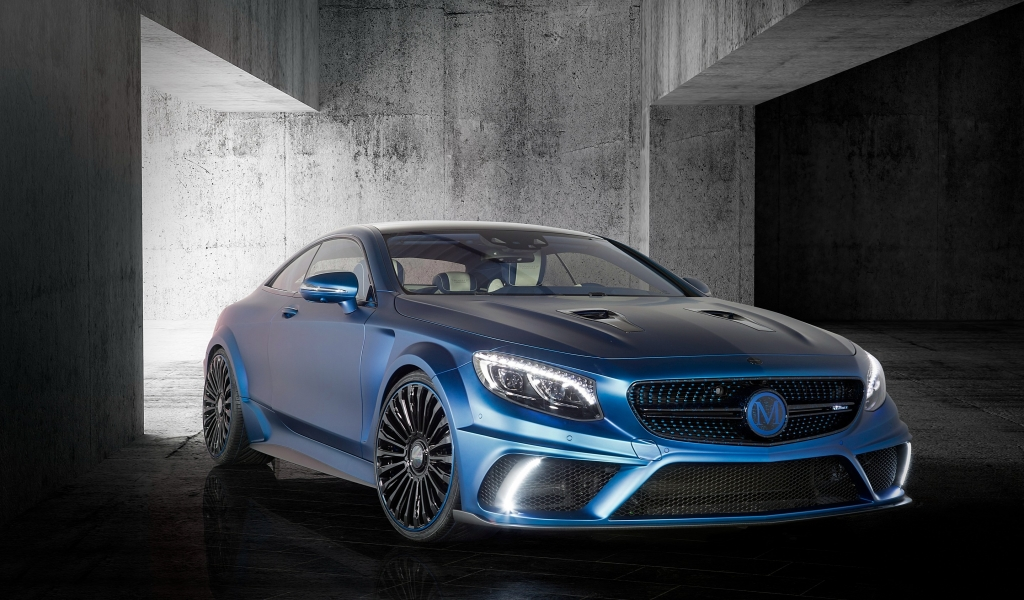Mercedes Benz S63 AMG Brabus Diamond Edition for 1024 x 600 widescreen resolution