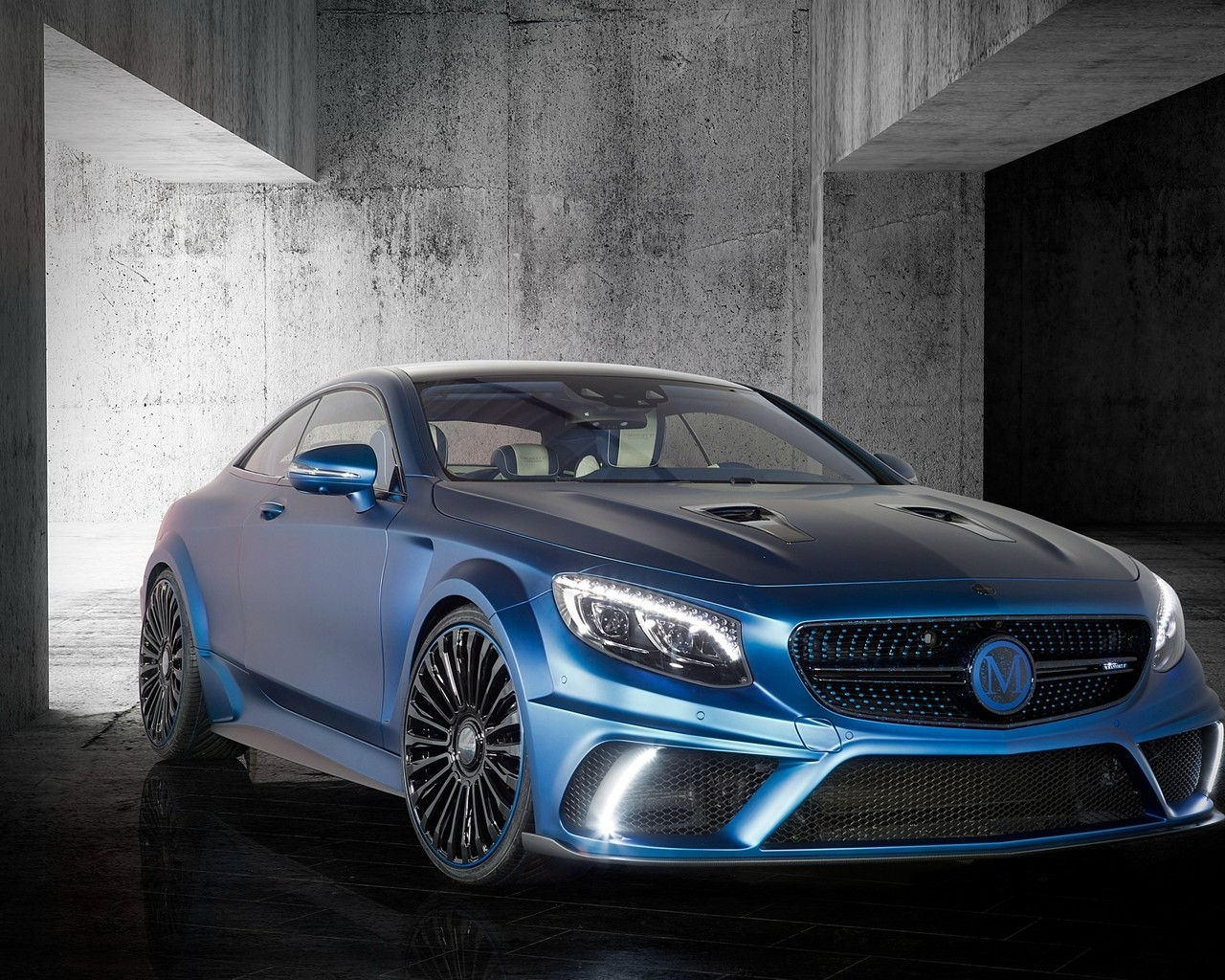 Mercedes Benz S63 AMG Brabus Diamond Edition for 1280 x 1024 resolution