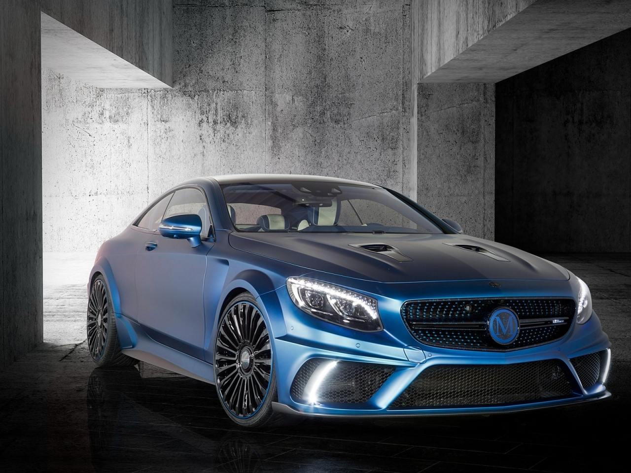 Mercedes Benz S63 AMG Brabus Diamond Edition for 1280 x 960 resolution