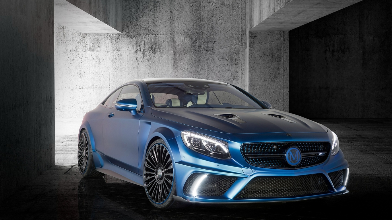 Mercedes Benz S63 AMG Brabus Diamond Edition for 1366 x 768 HDTV resolution