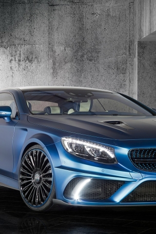 Mercedes Benz S63 AMG Brabus Diamond Edition for 320 x 480 iPhone resolution