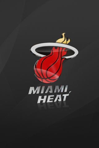 Miami Heat for 320 x 480 iPhone resolution