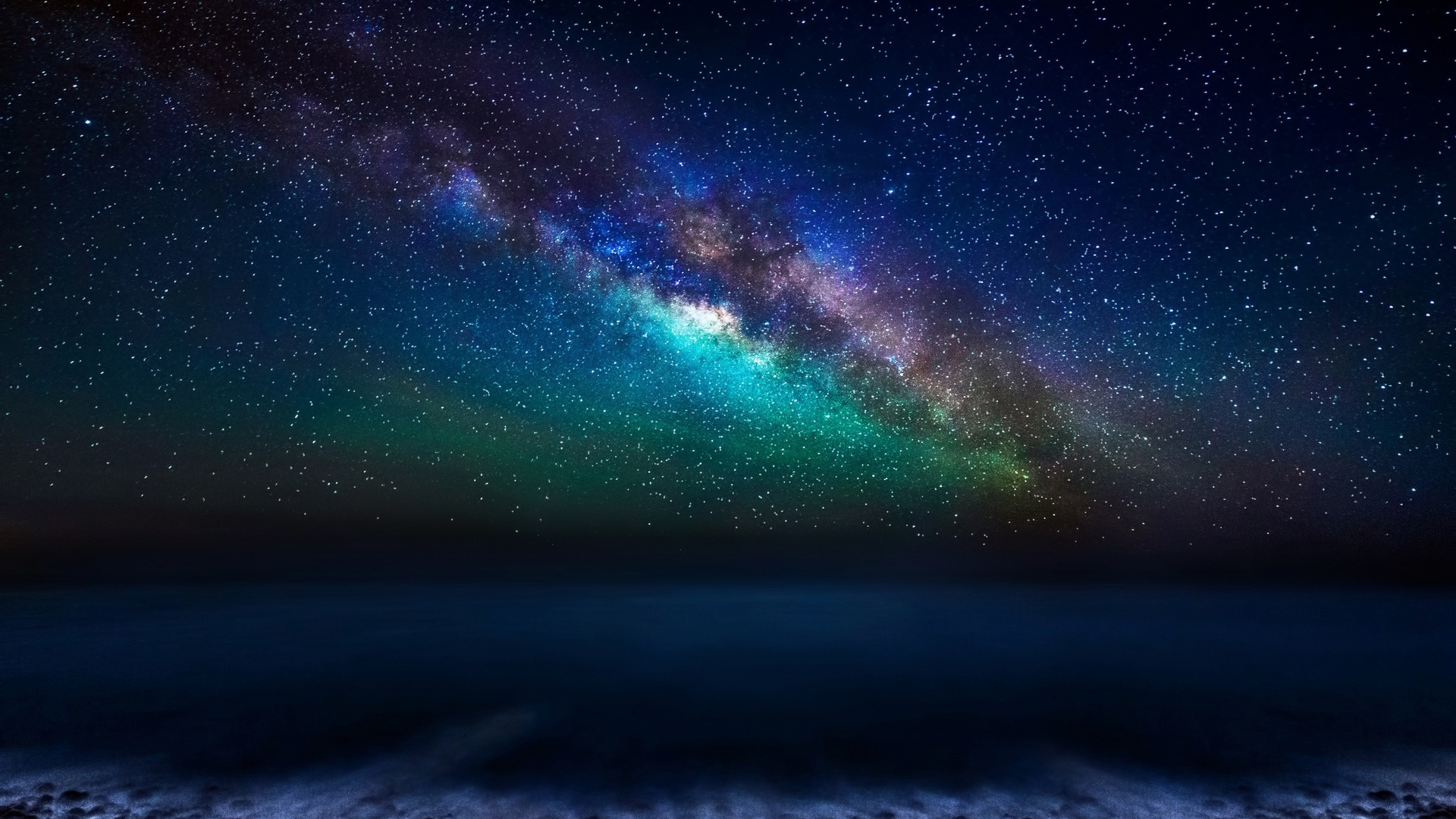 Milky Way Galaxy From The Canary Islands 1920 X 1080 Hdtv