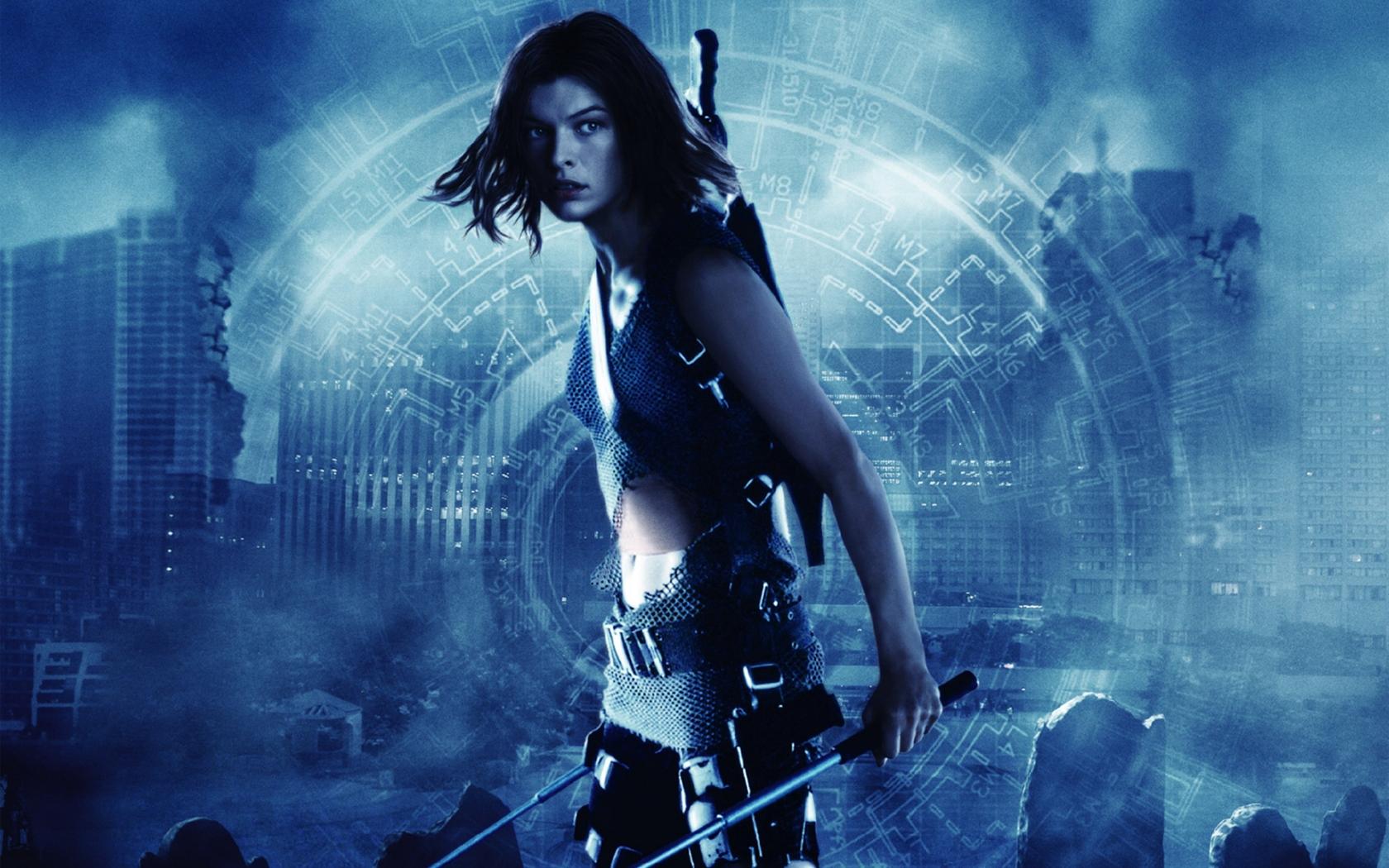 Milla Jovovich Resident Evil 6 Hd Wallpaper Wallpaperfx