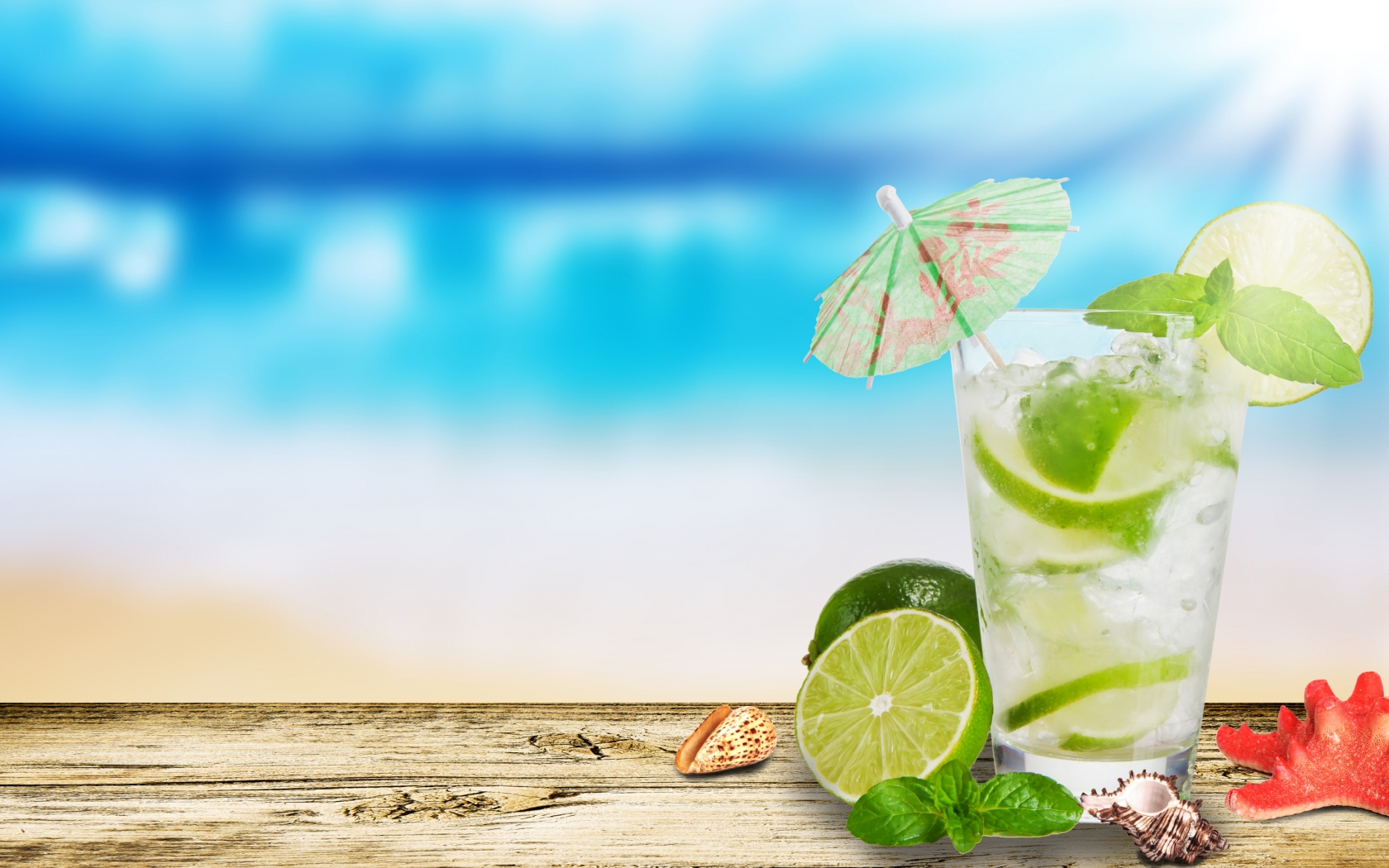 Mojito Cocktail for 1680 x 1050 widescreen resolution