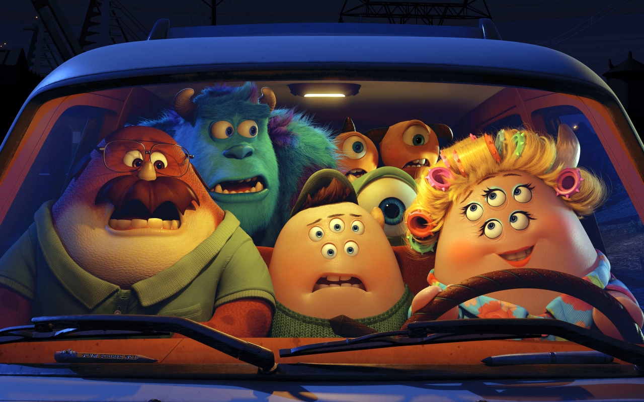 Monsters University for 1280 x 800 widescreen resolution
