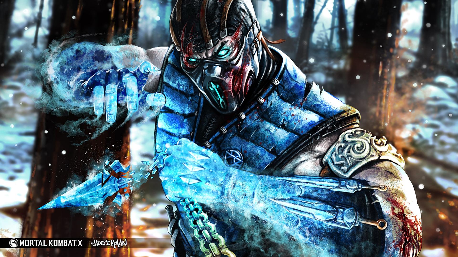 Mortal Kombat X Subzero Hd Wallpaper Wallpaperfx