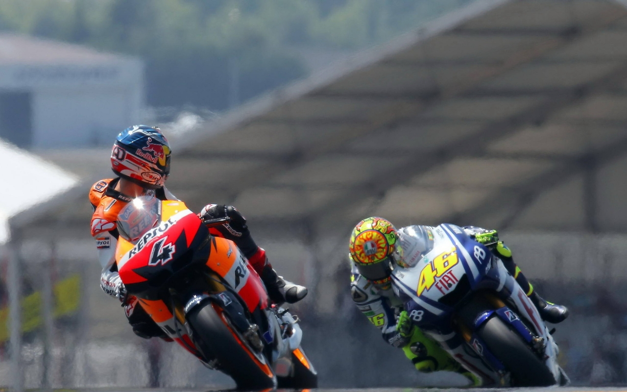 MotoGP Riders for 1280 x 800 widescreen resolution