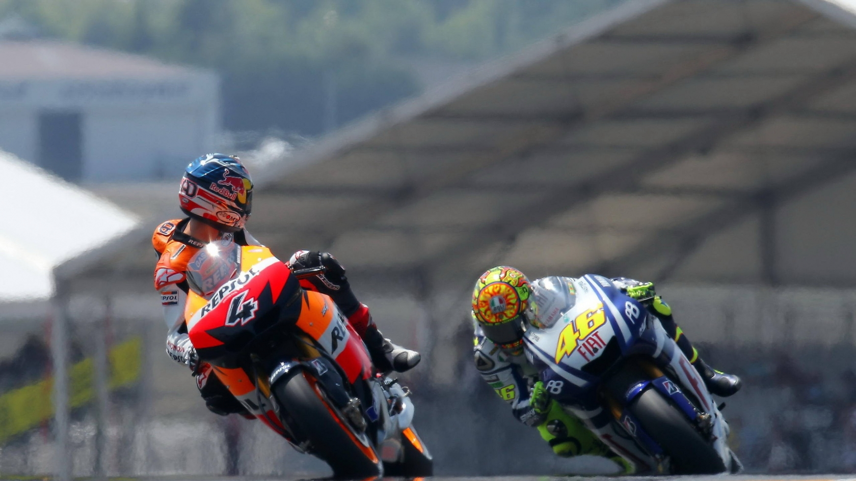 MotoGP Riders for 1680 x 945 HDTV resolution