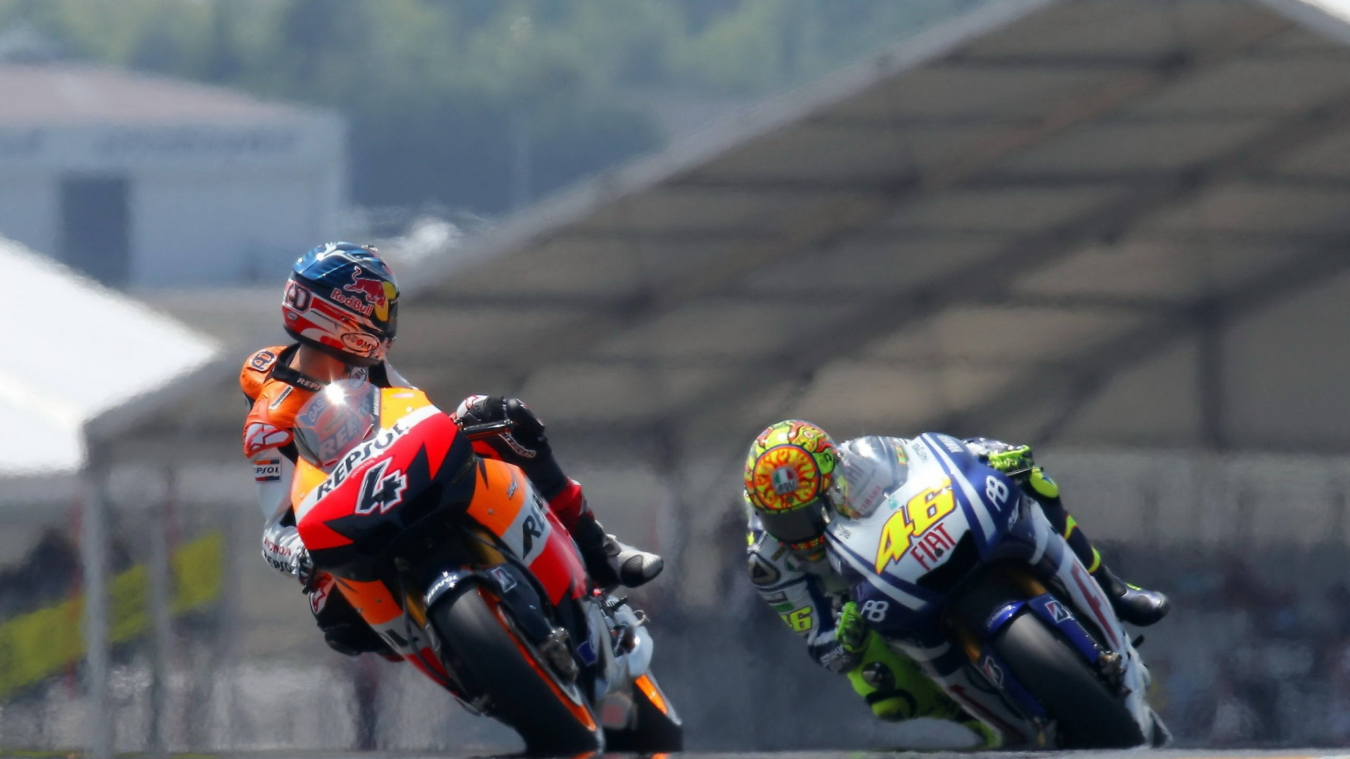 MotoGP Riders for 1920 x 1080 HDTV 1080p resolution
