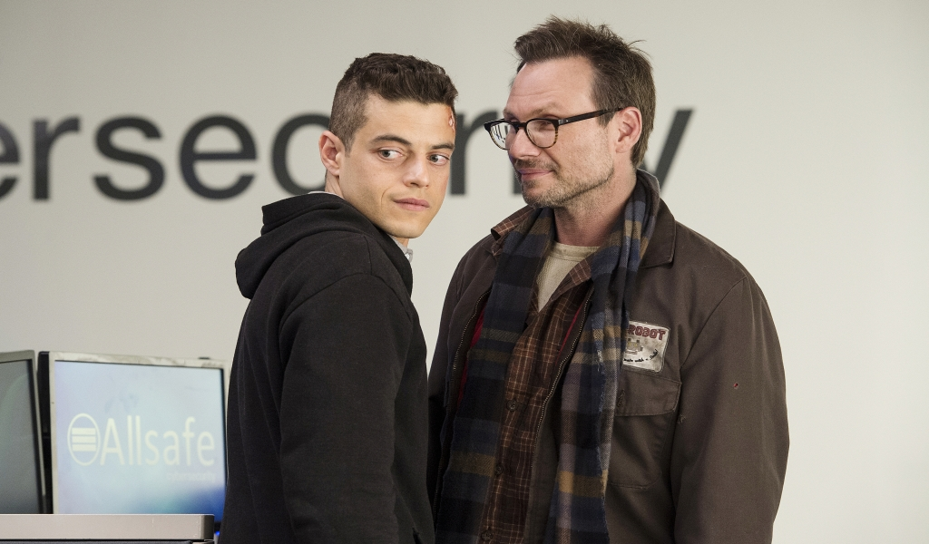 Mr Robot for 1024 x 600 widescreen resolution