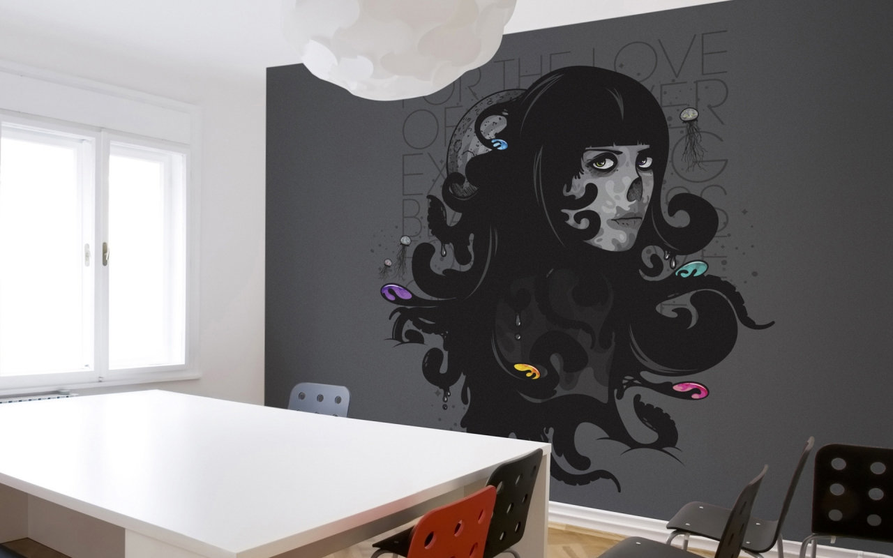 Murals For the Love for 1280 x 800 widescreen resolution