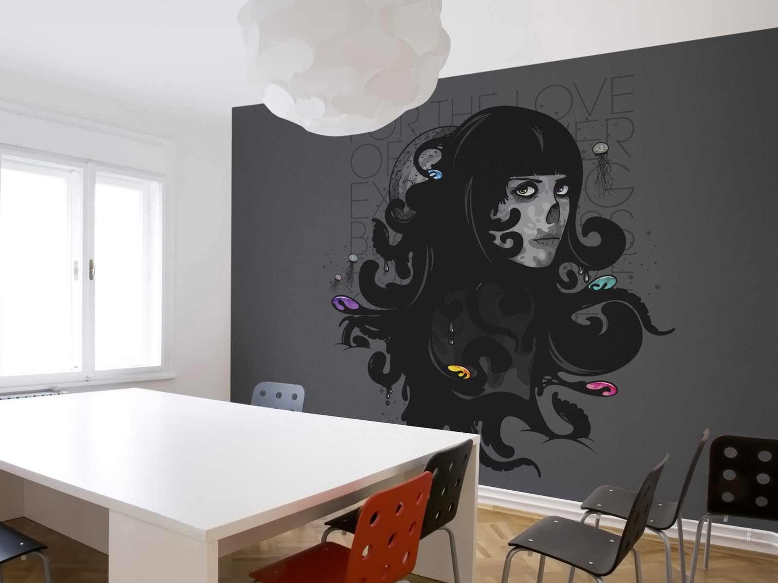 Murals For the Love for 1600 x 1200 resolution