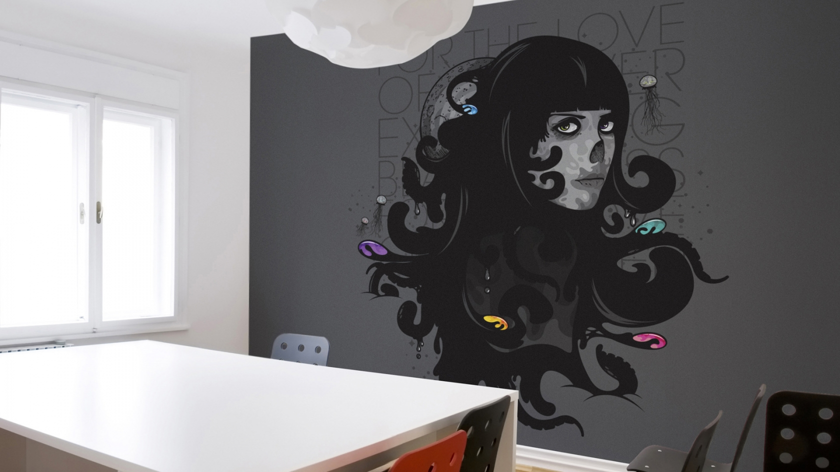 Murals For the Love for 1680 x 945 HDTV resolution