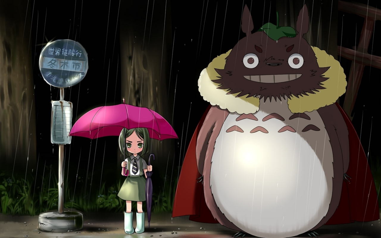 My Neighbor Totoro for 1280 x 800 widescreen resolution