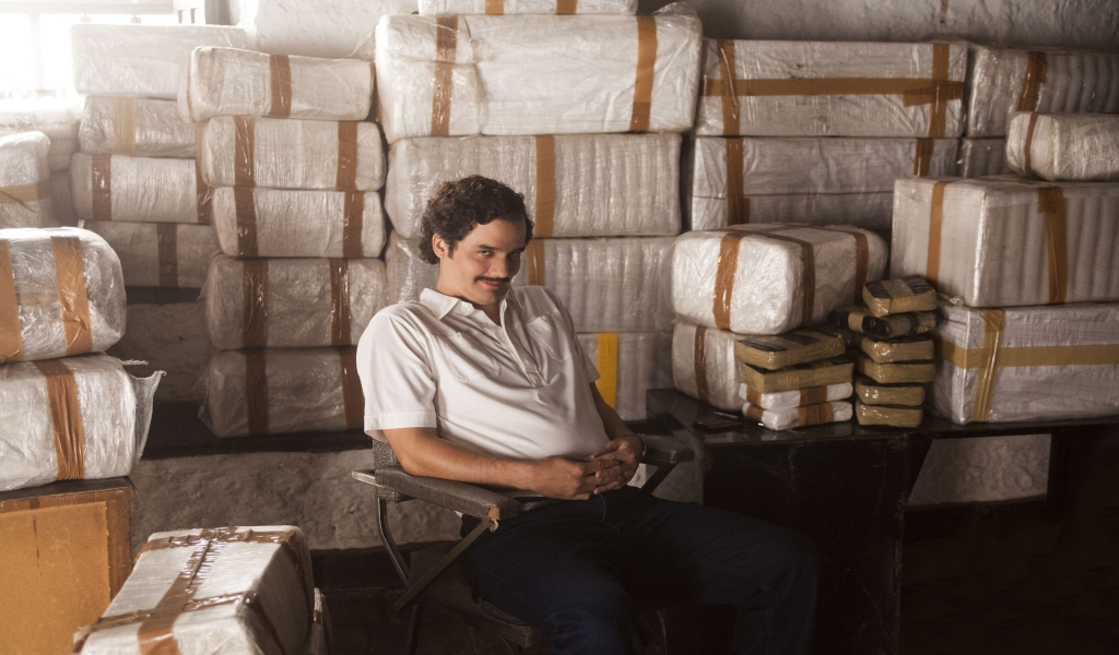 Narcos Pablo Escobar for 1024 x 600 widescreen resolution