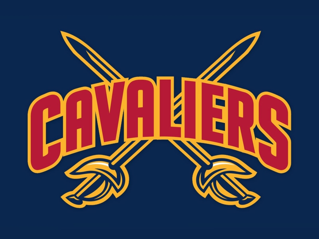 NBA Cleveland Cavaliers Logo for 1024 x 768 resolution