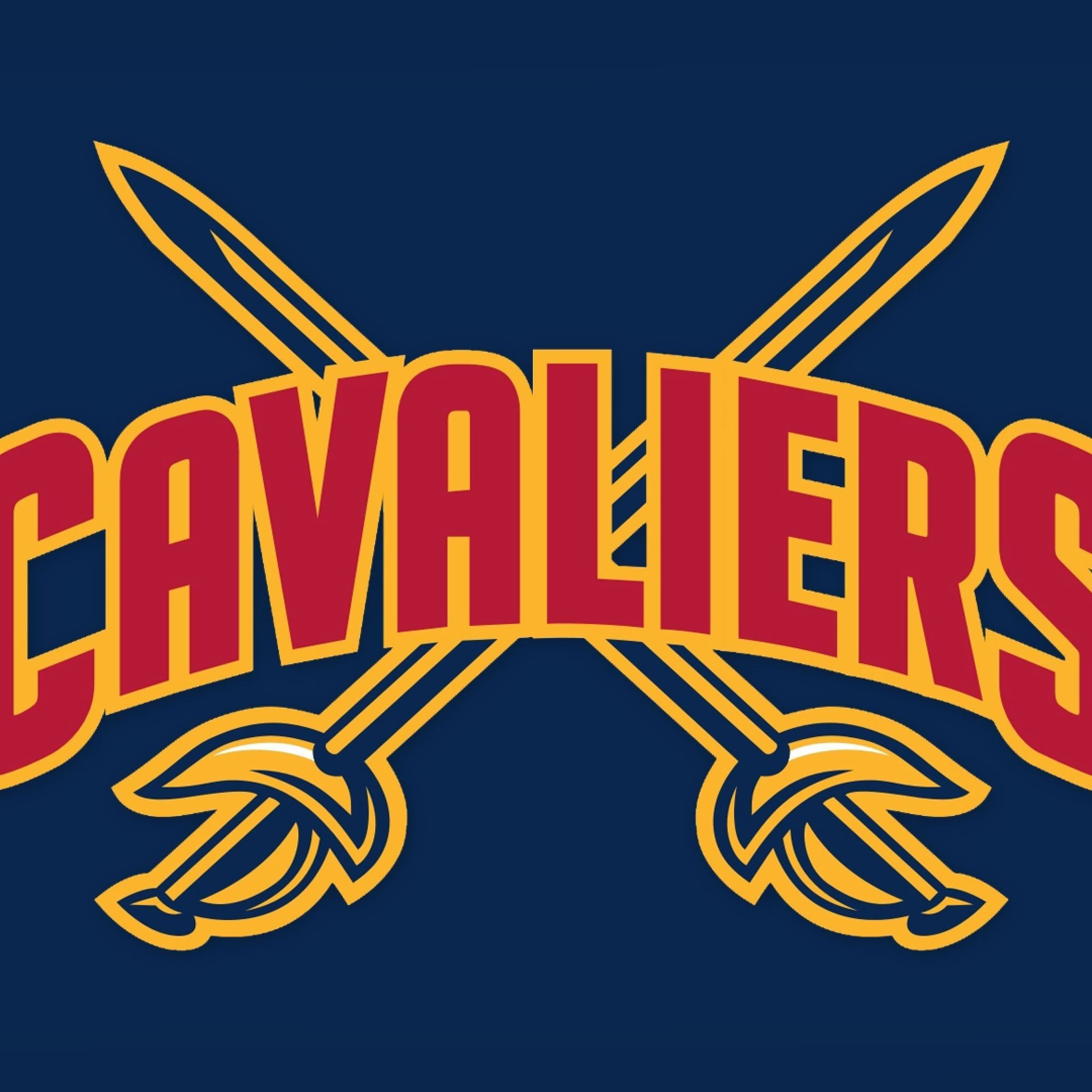 NBA Cleveland Cavaliers Logo for 2048 x 2048 New iPad resolution