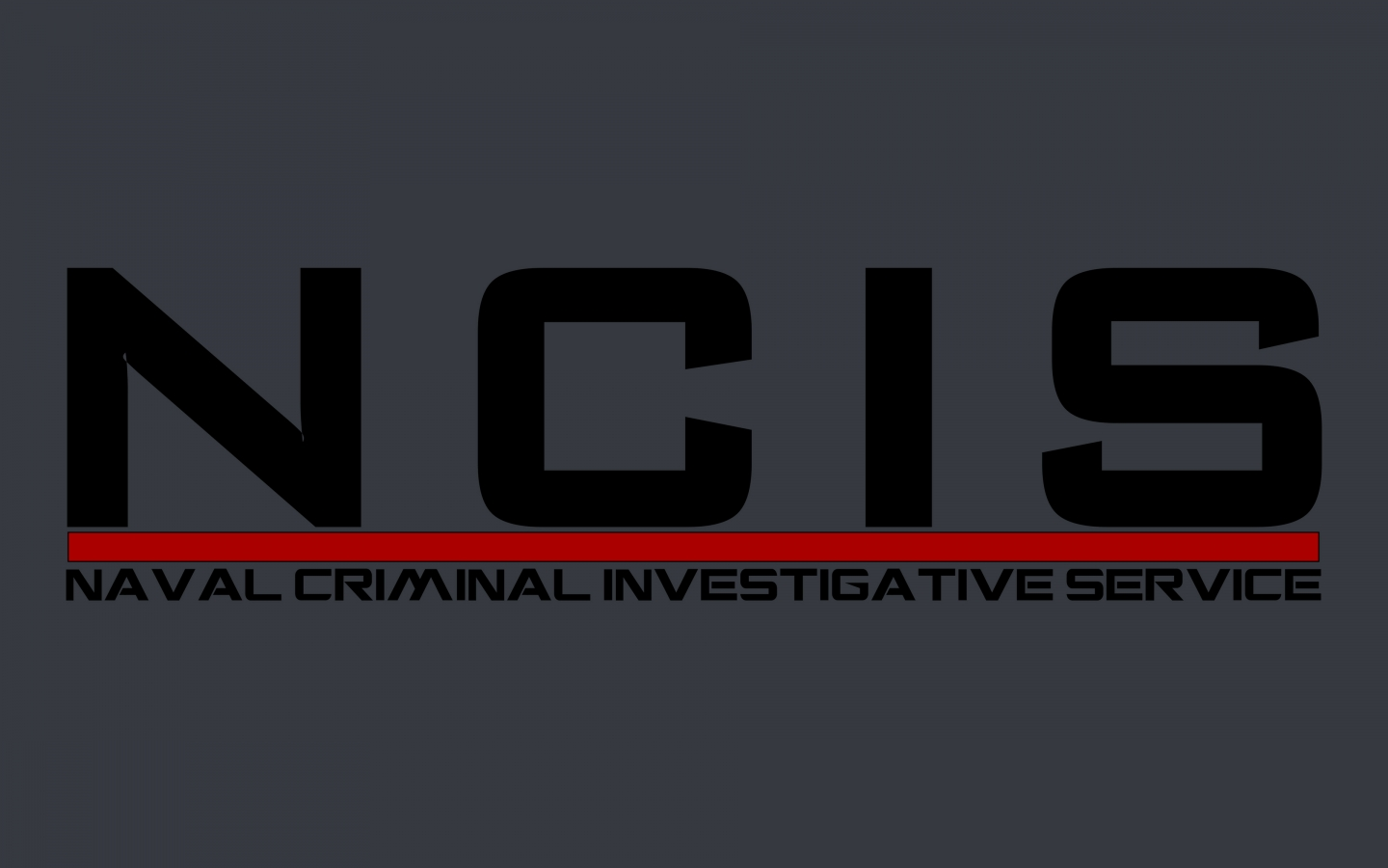 NCIS Logo for 1440 x 900 widescreen resolution