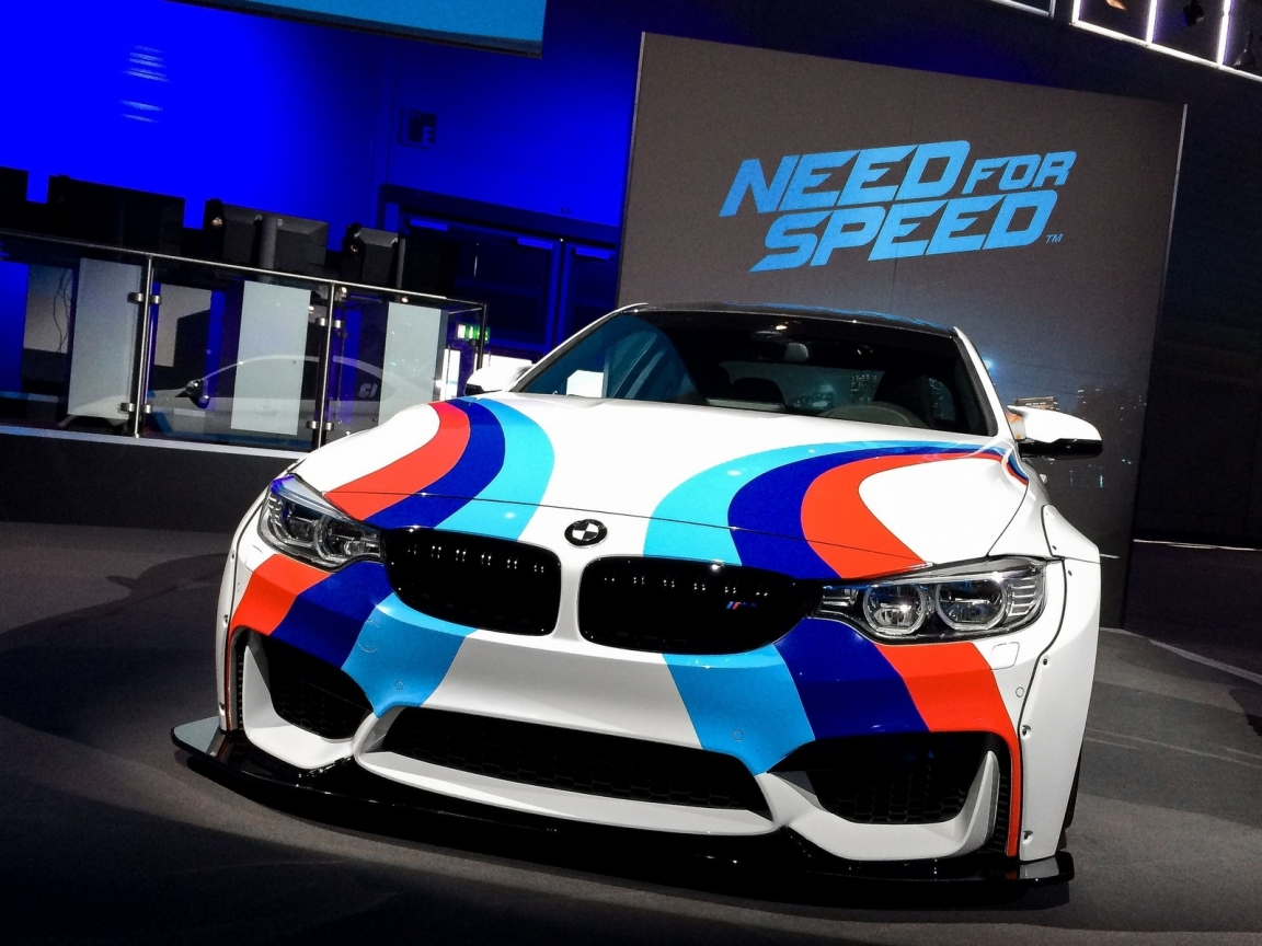 Need For Speed BMW for 1152 x 864 resolution