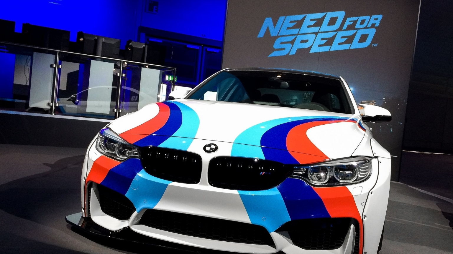 Need For Speed BMW for 1536 x 864 HDTV resolution