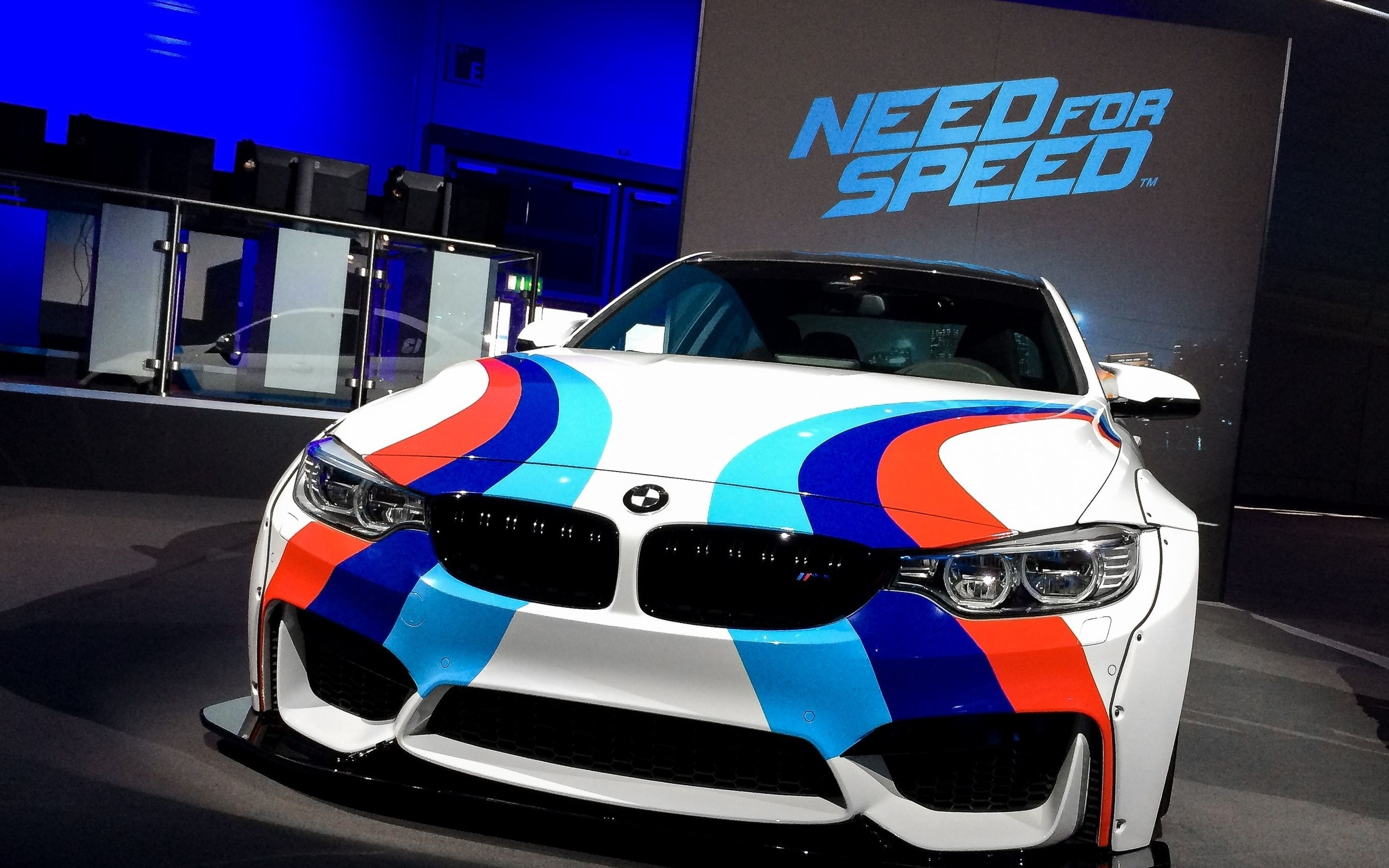 Need For Speed BMW for 2560 x 1600 widescreen resolution