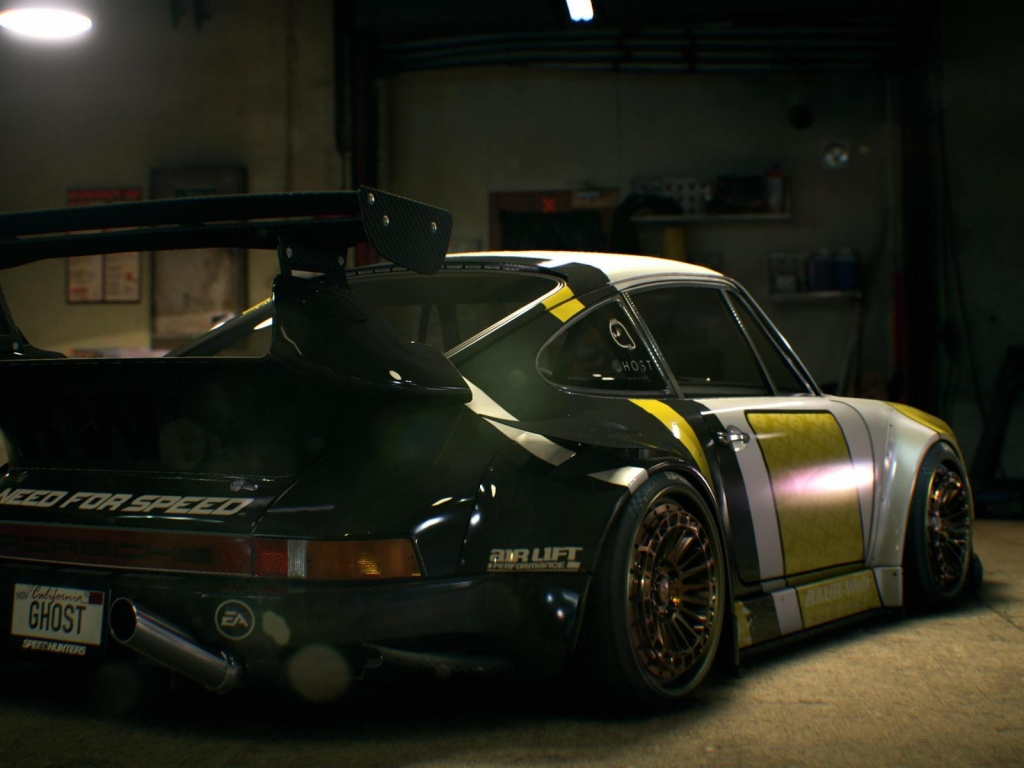 Need For Speed Porsche Ghost for 1024 x 768 resolution