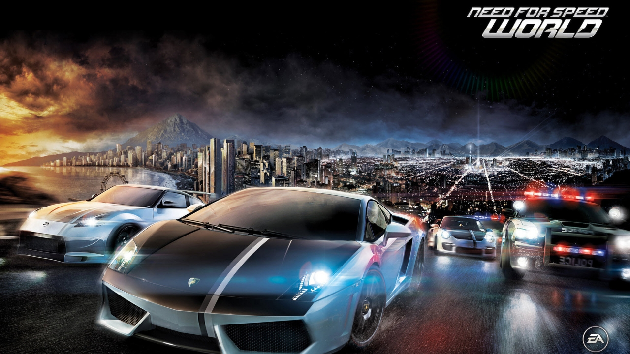 Need for Speed World for 1280 x 720 HDTV 720p resolution